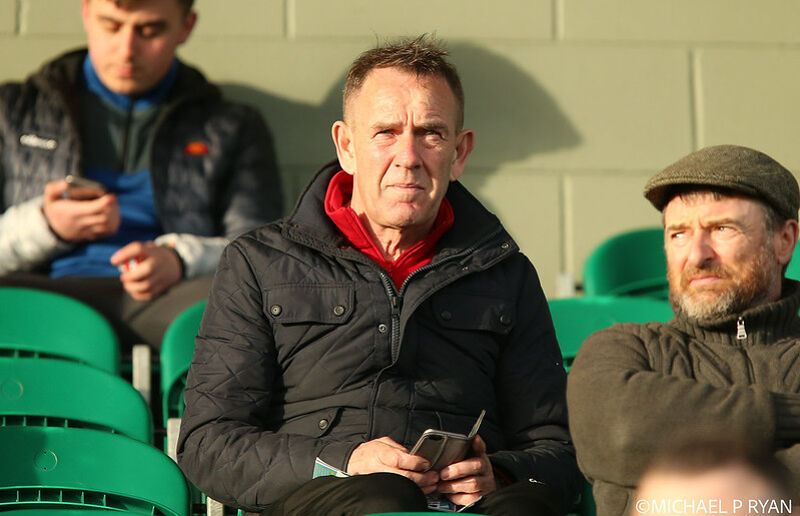 Manager of Northern Ireland Women's team Kenny Shiels