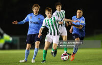 Brandon Kavanagh on the ball for Bray Wanderers