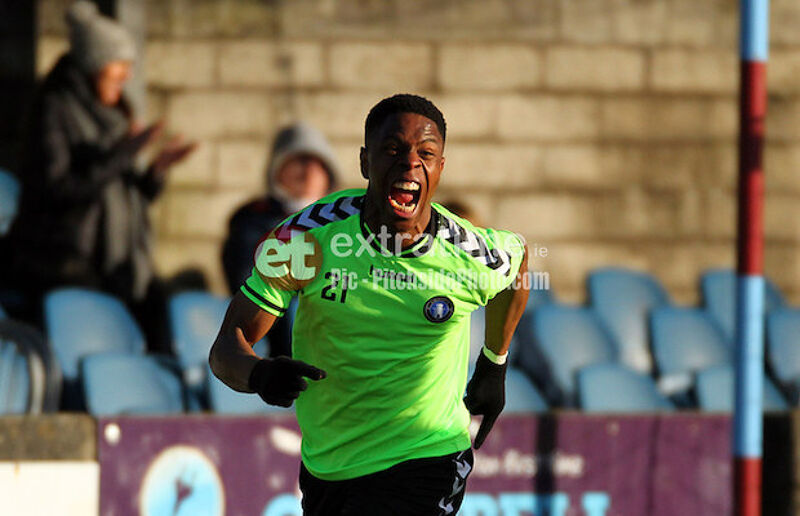 Chiedozie Ogbene in action for Limerick in 2017
