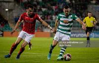 Aaron Greene in Shamrock Rovers 2-0 win over Sligo Rovers last Friday