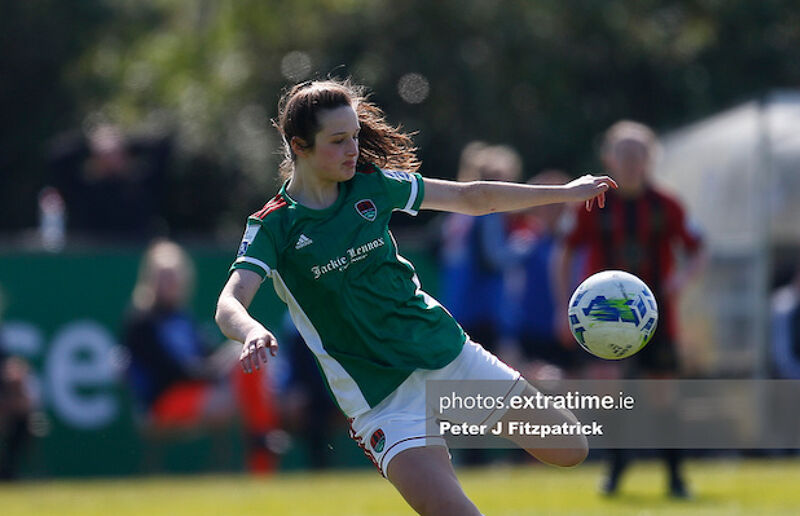 Eyes on the prize - Laura Shine scores for Cork City