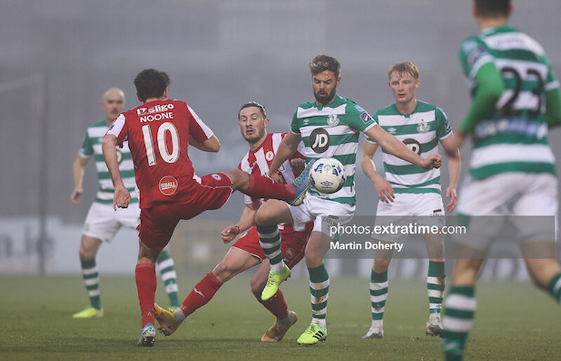 Greg Bolger back in action after injury against Sligo Rovers