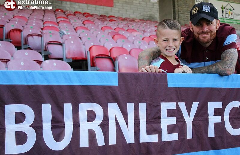 Costelloe has been training with Burnley since last summer.