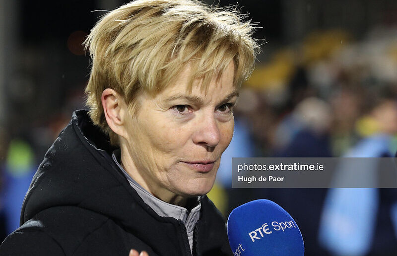 Vera Pauw will be hoping to lead Ireland to their first ever major tournament.