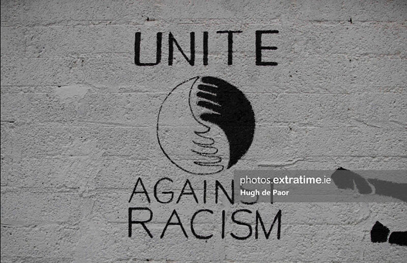 Another unacceptable racism incident has taken place on social media.