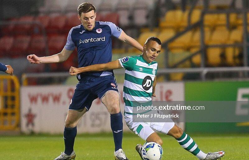 Garry Buckley in action for Sligo Rovers during the 2020 season.