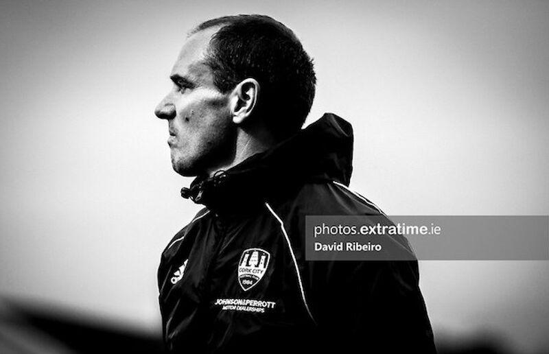 New Cork City Head Coach Colin Healy