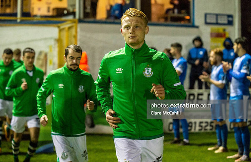 Liam Scales made 51 competitive appearances for Shamrock Rovers