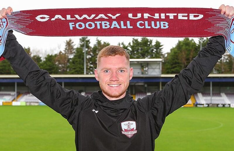 Mikie Rowe is unveiled at Eamonn Deacy Park.