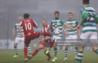 Greg Bolger in action for Shamrock Rovers last season against Sligo Rovers