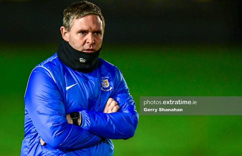 Athlone boss Adrian Carberry