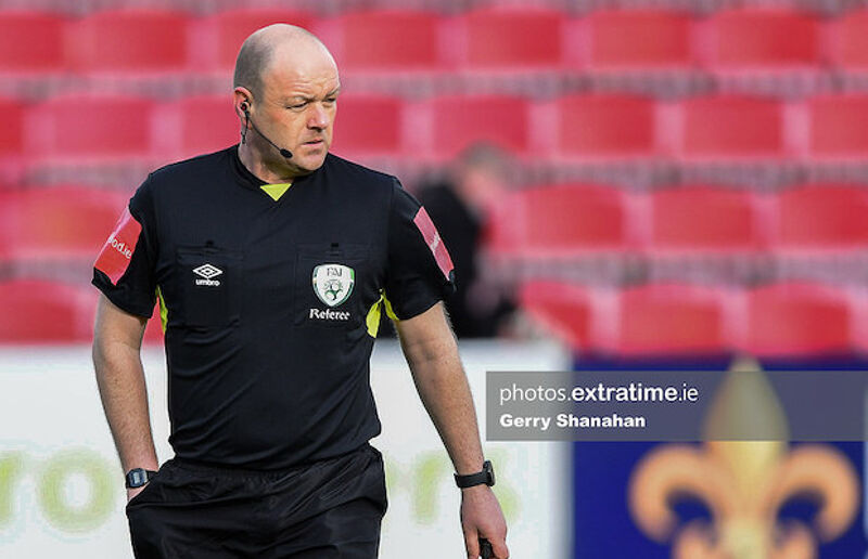 Graham Kelly's decision to allowed the Rovers equaliser to stand despite Derry protests