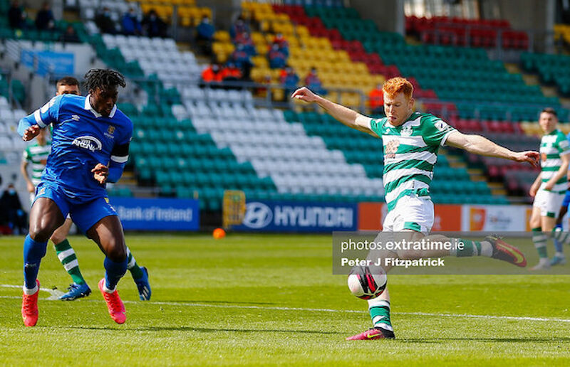 Rory Gaffney was on the scoresheet when the sides last met in Tallaght