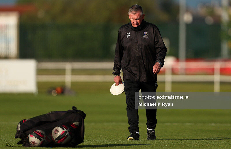 The now former Waterford manager Kevin Sheedy.