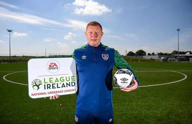 League of Ireland Academy development manager Will Clarke during a EA SPORTS National Underage League Media Day at FAI Headquarters in Abbotstown, Dublin.