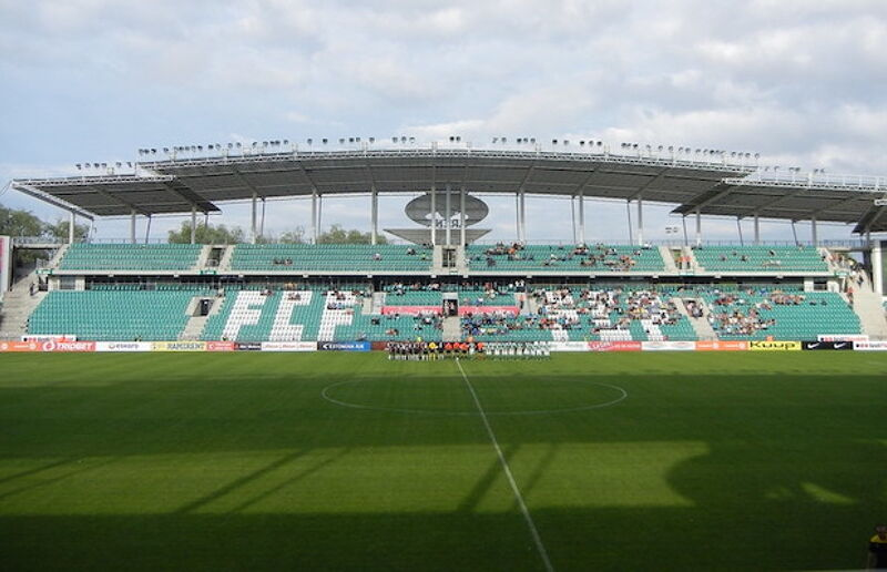 A. Le Coq Arena is home to FCI Levadia Tallinn