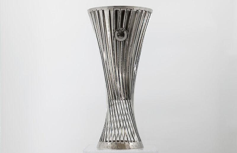 UEFA Europa Conference League trophy