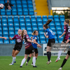 Anna Fahey rises in the box to score Galway's winning goal over Athlone Town at Lissywollen on Tuesday, 3 August 2021.