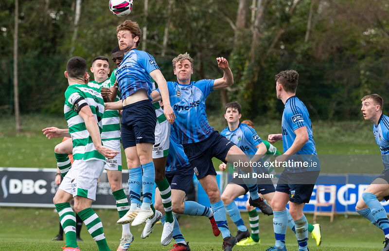 Action from an enjoyable friendly fixture in the UCD Bowl on Saturday afternoon.