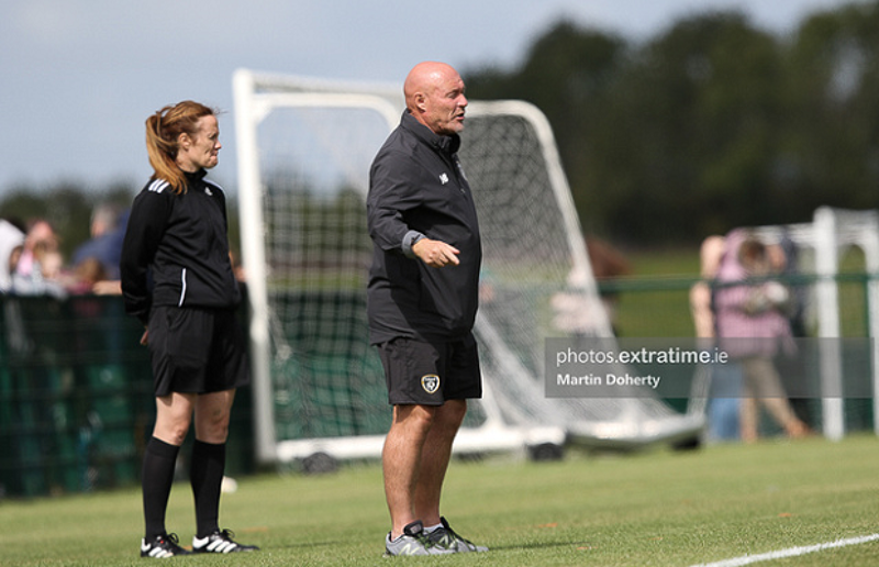 Republic of Ireland Women's Under 19s manager Dave Connell.