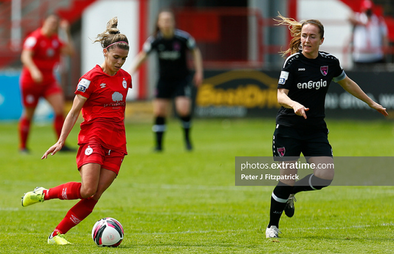 Jamie Finn in action for Shelbourne during their 0-0 draw with Wexford Youths at Tolka Park on Saturday, 29 May 2021.