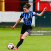 Kellie Brennan in action for Athlone Town during their WNL game against Shelbourne at Tolka Park on Saturday, 5 June 2021.