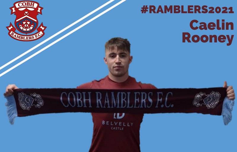 Caelin Rooney is the latest addition to the Cobh squad ahead of the new season.
