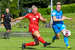 Saoirse Noonan of Shels rifles home the opening goal of the game during the Reds 2-1 win over DLR Waves at the UCD Bowl on Saturday, 17 July 2021.