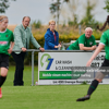 Republic of Ireland WNT manager Vera Pauw watches on with goalkeeper coach Jan Willem van Ede and scout Keith O'Hanlon as Peamount United's Under 19 side run out 4-0 winners over Shelbourne's Under 19s.